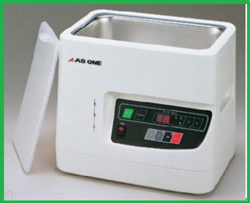 Bể rửa siêu âm ba bước sóng As One model VS-D100-III