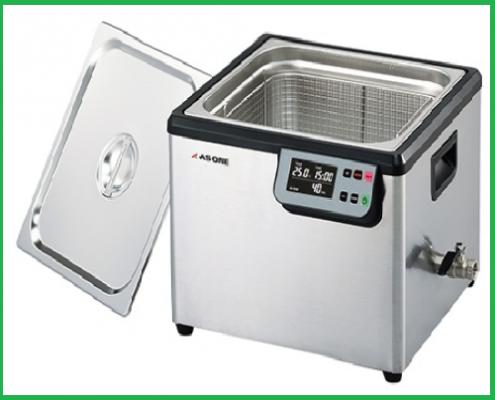 Bể rửa siêu âm có gia nhiệt model MCS As One – Nhật Bản