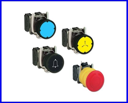 Nút nhấn công tắc đèn báo