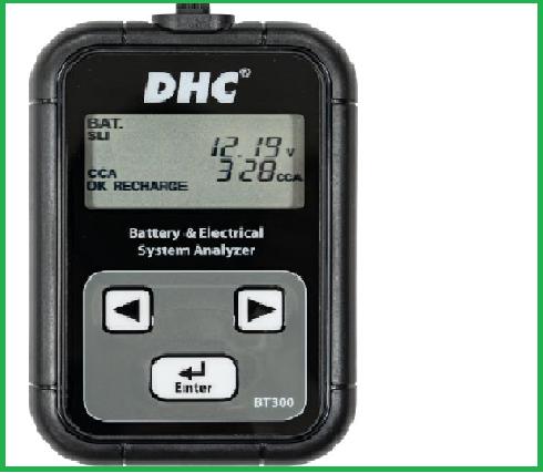 Thiết bị kiểm tra hệ thống điện và pin BT300