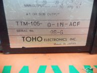 Bộ điều khiển nhiệt độ TOHO TTM 105