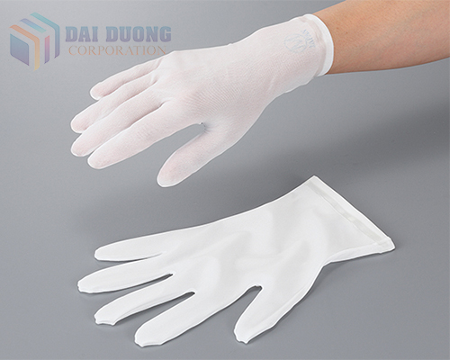 Găng tay chống bụi AS ONE 3-7383-01, 02, 03, 04, 05