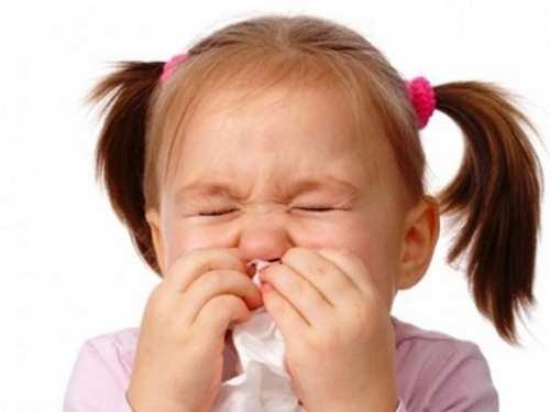 Trẻ bị viêm xoang