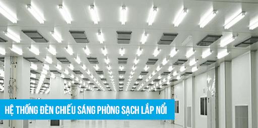 Một số loại đèn phòng sạch thông dụng