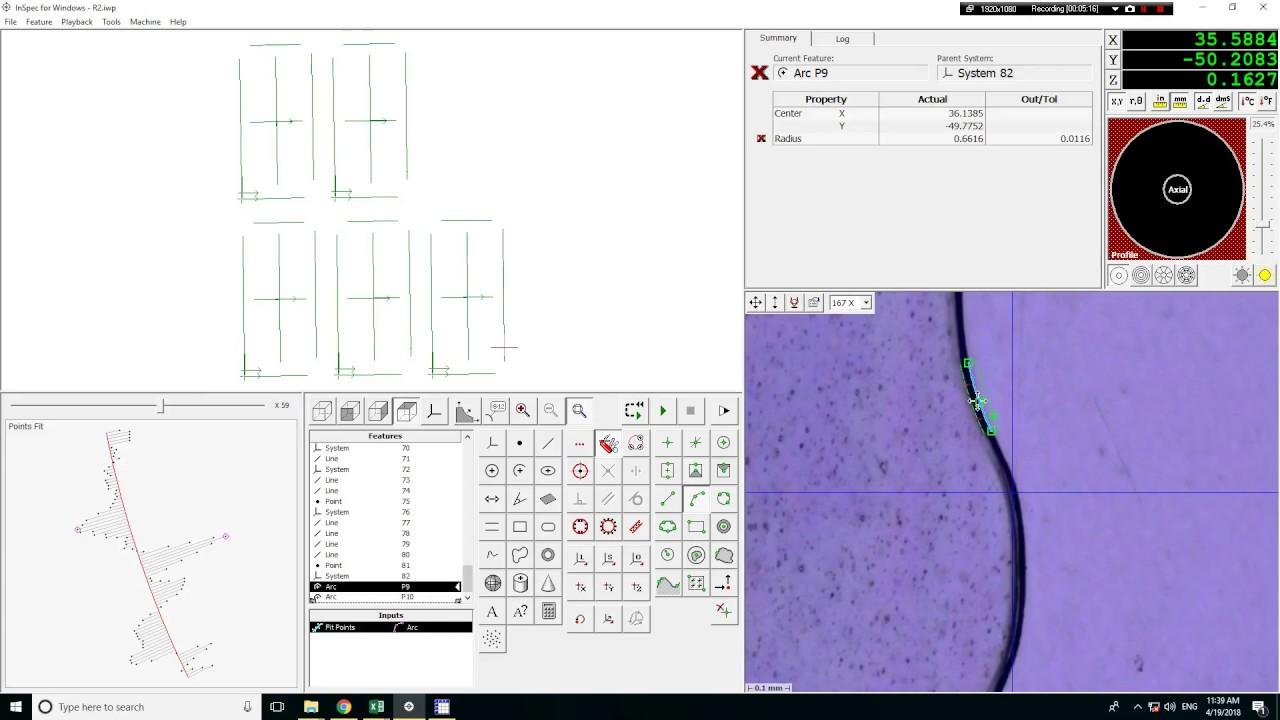 Phần mềm đo lường Inspec