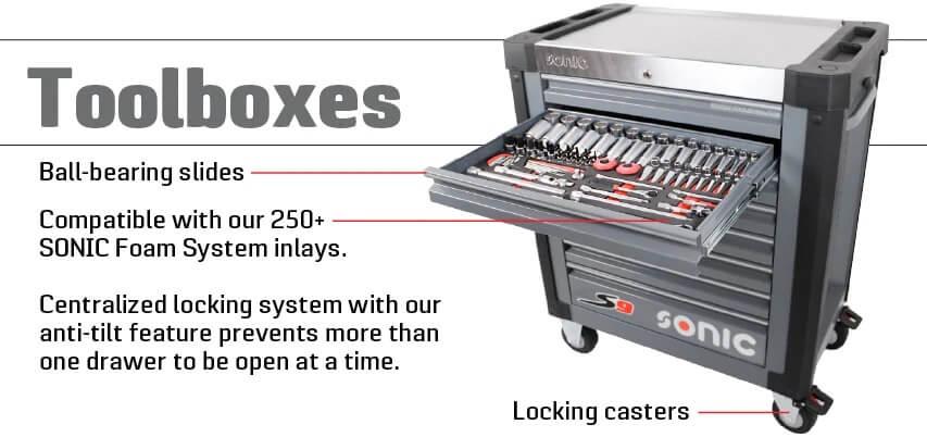 Toolboxes - Thùng đựng đồ nghề sonic